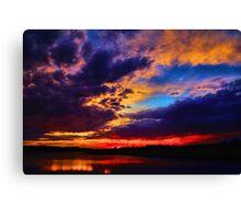 Sunset 6/6 Canvas Print