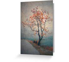 Between Seasons Greeting Card
