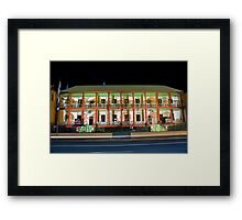 NSW Parliament House ~ Smart Light Framed Print