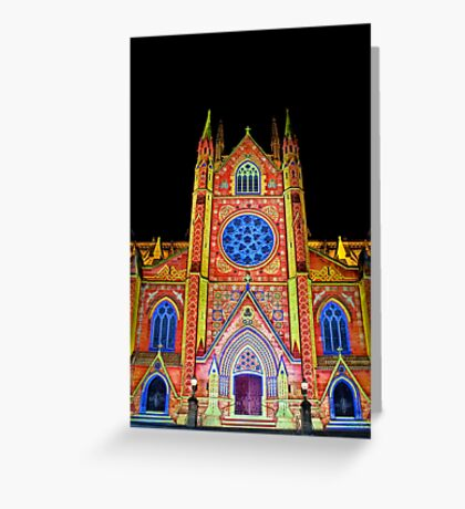 St Mary's Cathedral ~ Smart Light Greeting Card