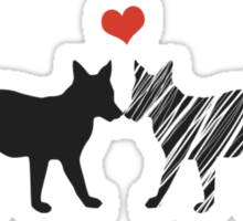 Foxtrot Love Potion Sticker