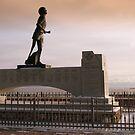 Terry Fox monument Thunderbay Ontario by loralea