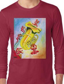 PLAYFUL TUBA Long Sleeve T-Shirt