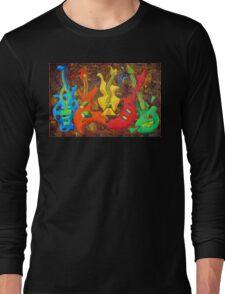 FIVE GUITARS Long Sleeve T-Shirt