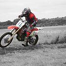 Lone rider by Lee Popowski