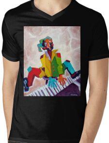 PATCHES Mens V-Neck T-Shirt