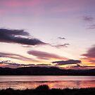 Sunrise, River Derwent, Granton, Tasmania 7 June 2015 by Odille Esmonde-Morgan