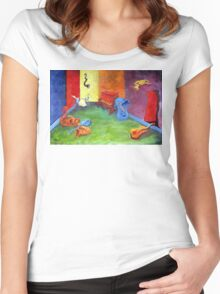 the MORNING AFTER Women's Fitted Scoop T-Shirt