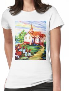 REPAINT Womens Fitted T-Shirt