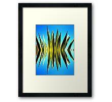 Palm Spike Framed Print