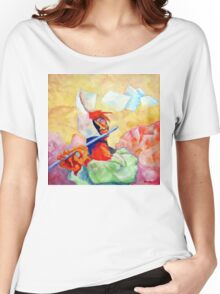 WHISTLING IN THE WIND Women's Relaxed Fit T-Shirt