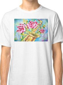 BLOOMING SAX Classic T-Shirt