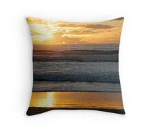 Sunrise, Main Beach, Straddie Throw Pillow