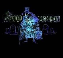 Haunted Mansion Disneyland Hatbox Ghost Disney by Jacob King