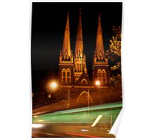 steeples Poster