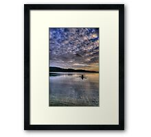 Personal Time - Narrabeen Lakes, Sydney - The HDR Experience Framed Print
