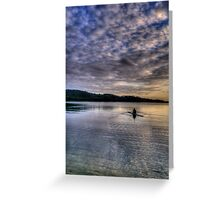 Personal Time - Narrabeen Lakes, Sydney - The HDR Experience Greeting Card