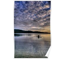 Personal Time - Narrabeen Lakes, Sydney - The HDR Experience Poster