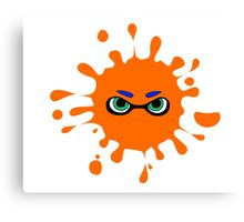 Splatoon - Ink Splat Inkling Eyes Canvas Print