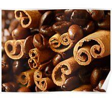 Cinnamon and Coffee Poster