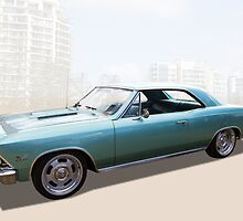 Chevelle Super Sport by Keith Hawley