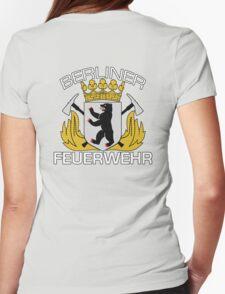 Berliner Feuerwehr Womens Fitted T-Shirt
