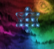 Star of David2-  Art + Products Design  by haya1812