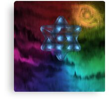 Star of David2-  Art + Products Design  Canvas Print