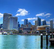 Darling Harbour, Sydney by Ben McCarthy