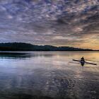 Personal Time (Landscape) - Narrabeen Lakes - The HDR Experience by Philip Johnson