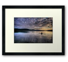 Personal Time (Landscape) - Narrabeen Lakes - The HDR Experience Framed Print
