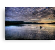 Personal Time (Landscape) - Narrabeen Lakes - The HDR Experience Canvas Print