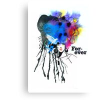 Forever Song Canvas Print