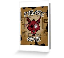 Pirate Cove Foxy Greeting Card