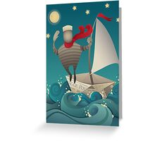 Going Sailing Greeting Card