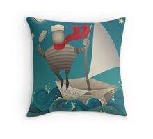 Going Sailing Throw Pillow