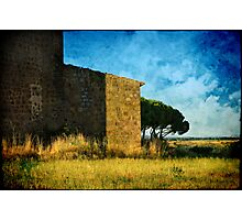 Ancient church - Italy Photographic Print