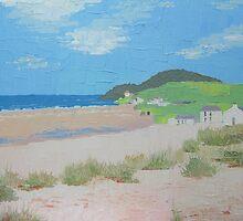 Croyde Bay, North Devon by Marie Edlin