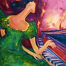 And She Played On and On and On by Helena Bebirian