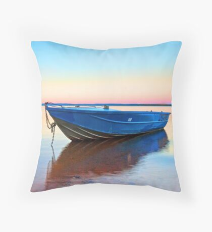 Rainbow Bay - Redland Bay, Qld Australia Throw Pillow