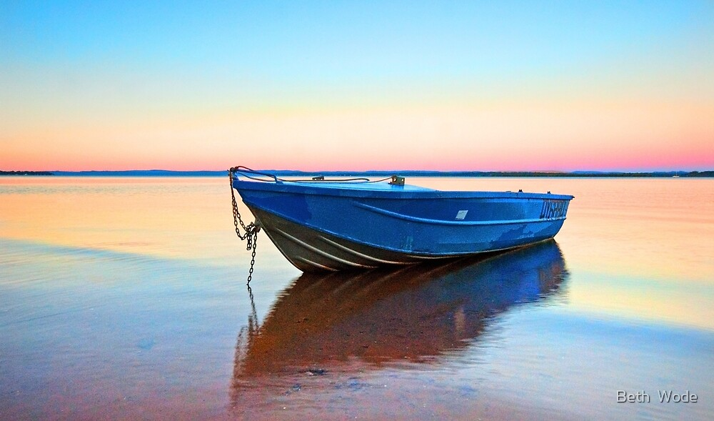 Rainbow Bay - Redland Bay, Qld Australia by Beth  Wode