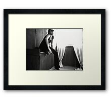 smoking mirrors Framed Print