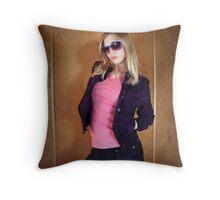 Stunna shades Throw Pillow