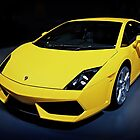 Yellow Lamborghini Gallardo by Nathan T