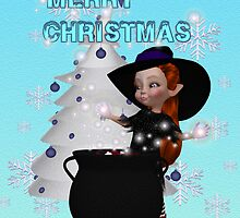 A Witchy Merry Christmas by LoneAngel