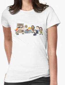 Firefly Peanuts Womens Fitted T-Shirt