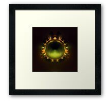 Night World Framed Print