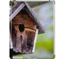 The old bird house iPad Case/Skin