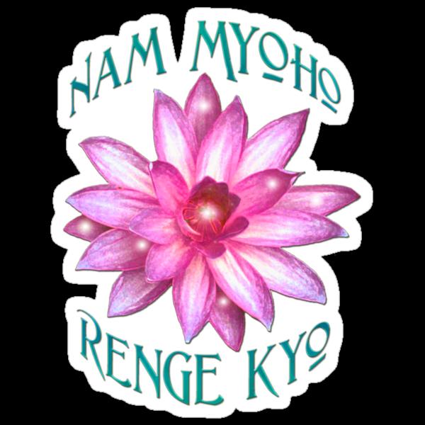 """""""Nam Myoho Renge Kyo""""  by midnightdreamer"""