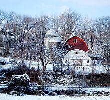 Winter Folk Art by Grace Anthony Zemsky